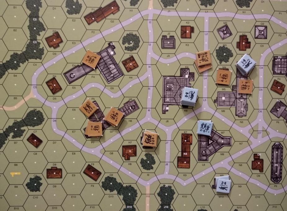 Na wschodzie rzeź, ale dzięki masowemu atakowi udało się zdobyć I7. Na zachodzie Niemcom nie udało się ustrzelić rozbitego oddziału, przez co nie przejęli kontroli nad budynkiem. Niemcy spokojnie mogli ruszyć na małe, północne budowle i je k