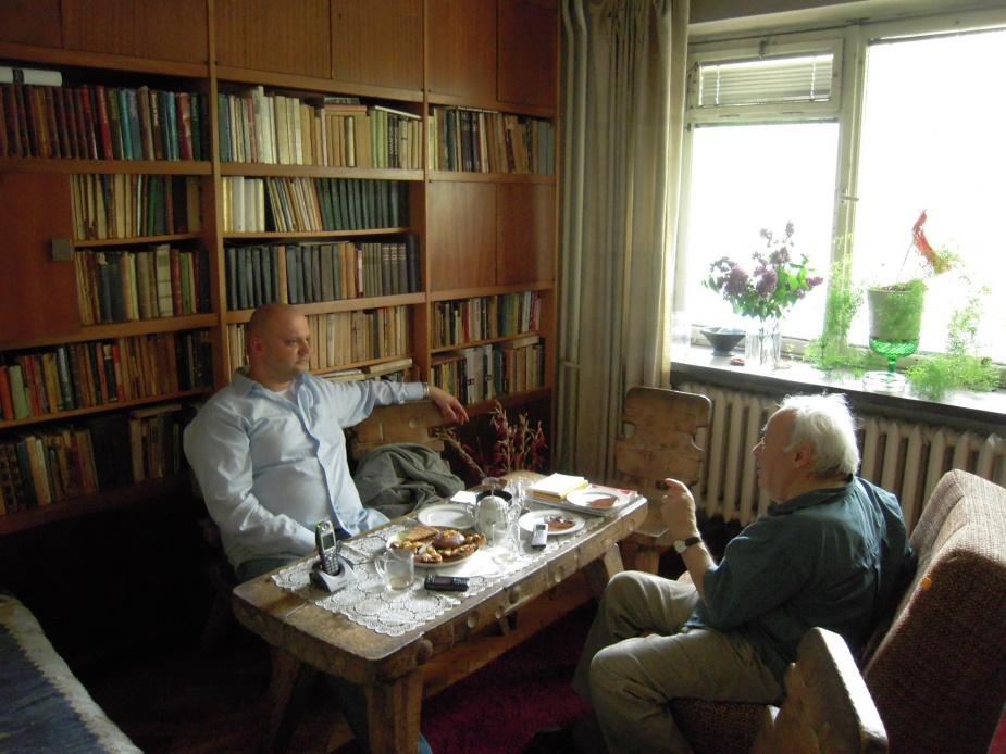 Rozmowa z Józefem Henem (fot. archiwum prywatne)