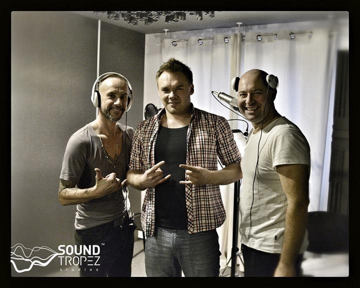 Adam 'Nergal' Darski, Michał Szolc i Szymon Bobrowski w Sound Tropez