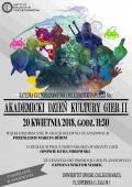 Akademicki Dzień Kultury Gier II