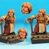 Dwarf Girl i Spartan Warrior od Scibor Miniatures