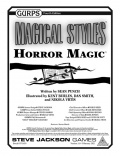 GURPS Horror Magic już dostępny