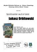 Łukasz Orbitowski odwiedzi Tarnów