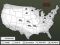Mapa USA w Afterbomb Madness