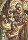 Narysuj sobie Chewbaccę z rodziną