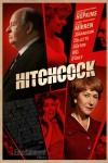 Oldschoolowy plakat Hitchcocka