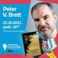 Peter V. Brett weźmie udział w Wirtualnych Targach Książki