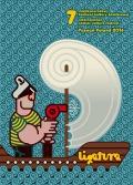 Plakat Międzynarodowego Festiwalu Kultury Komiksowej Ligatura 2016
