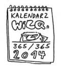 Wilq Superbohater w kalendarzu na 2014 rok
